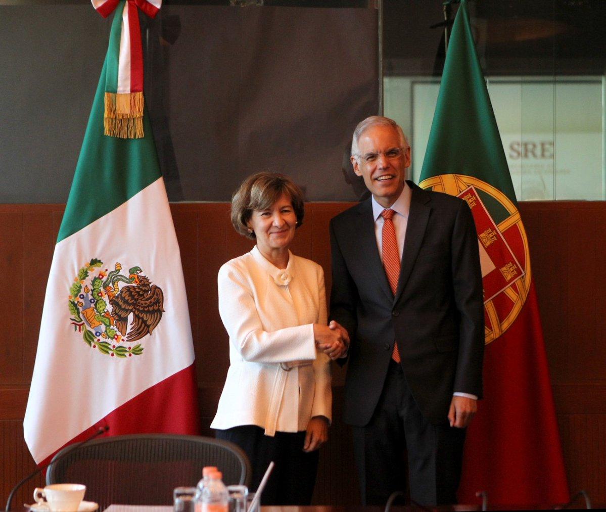 Teresa Ribeiro e Julian Ventura
