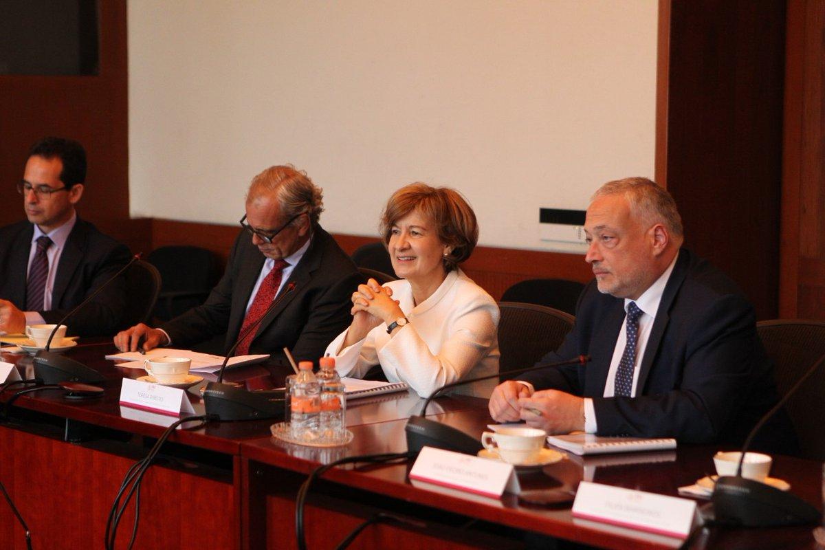 SENEC e delegação portuguesa